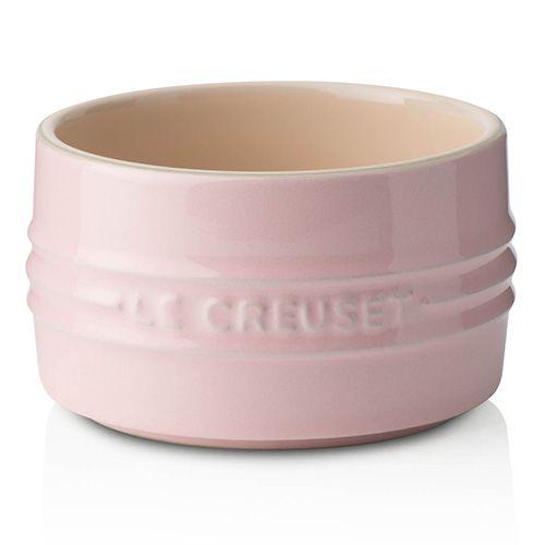 Le Creuset Chiffon Pink Stoneware Stackable Ramekin