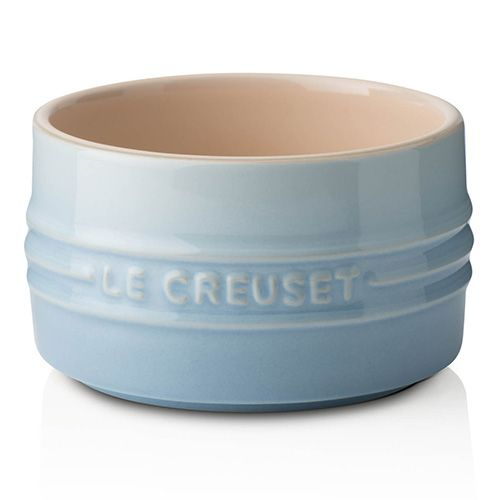 Le Creuset Coastal Blue Stoneware Stackable Ramekin