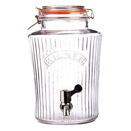 Kilner Vintage Clip Top Drinks Dispenser 8 Litre