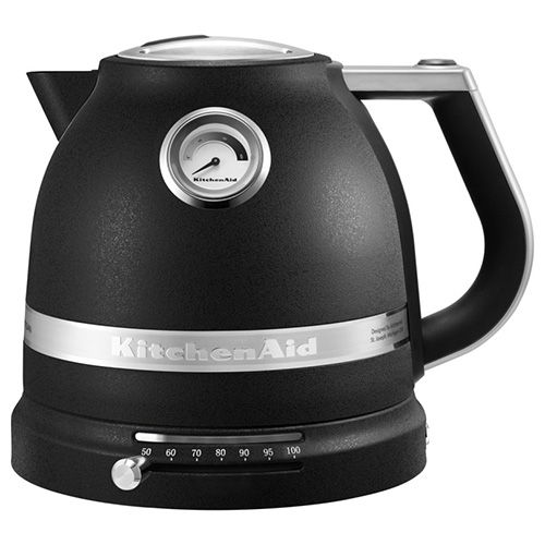 KitchenAid Artisan Cast Iron Black 1.5L Kettle