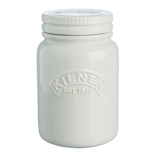 Kilner 0.6L Moon Grey Push Top Jar