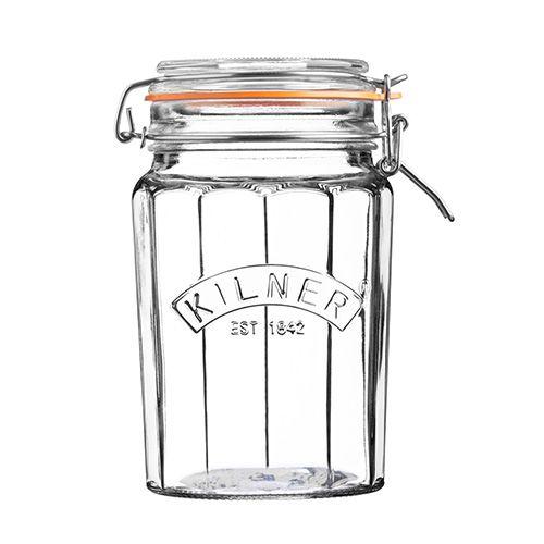Kilner Facetted Clip Top Jar 0.95 Litre