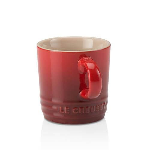 Le Creuset Cerise Stoneware Espresso Mug 3 for 2