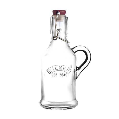 Kilner Clip Top Bottle 200ml with Handle