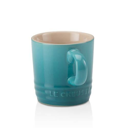 Le Creuset Teal Stoneware Espresso Mug 3 for 2