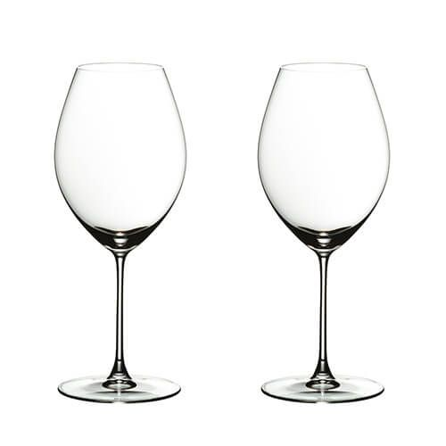 Riedel Veritas Old World Syrah Wine Glass Twin Pack