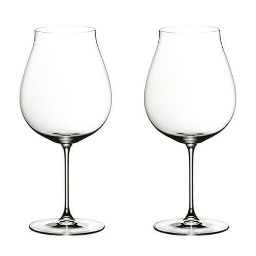 Riedel Veritas New World Pinot Noir Wine Glass Twin Pack