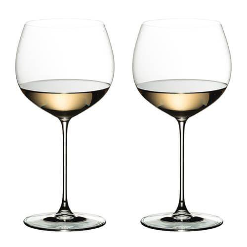 Riedel Veritas Chardonnay Wine Glass Twin Pack