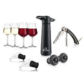The Wine Show Glassware & Wine Accessories Gift Set