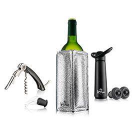 The Wine Show Wine Essentials Gift Set Black