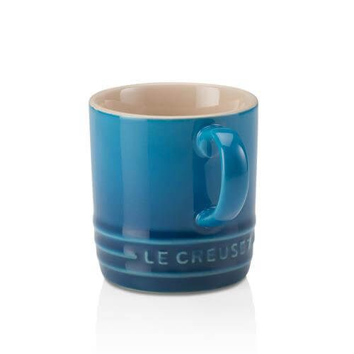 Le Creuset Marseille Blue Stoneware Espresso Mug