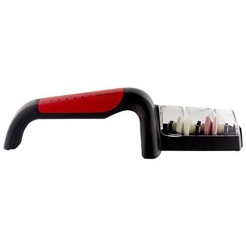 Global Ceramic Knife Sharpener Red Handle