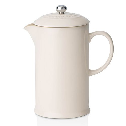 Le Creuset Almond Stoneware Coffee Pot & Press
