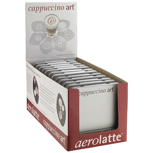 Aerolatte Cappuccino Art Set Of Six Stencils