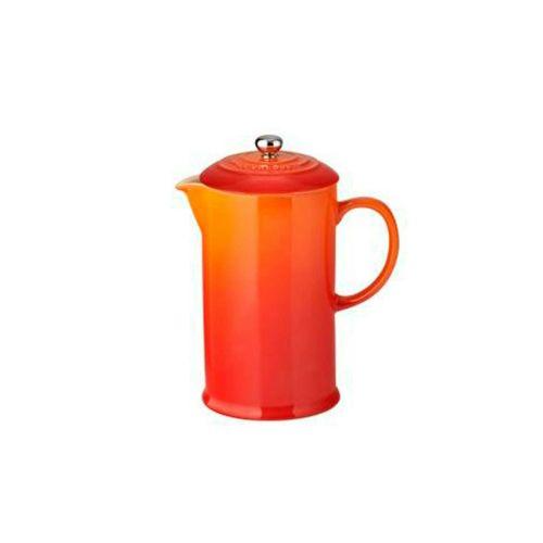 Le Creuset Volcanic Stoneware Coffee Pot & Press
