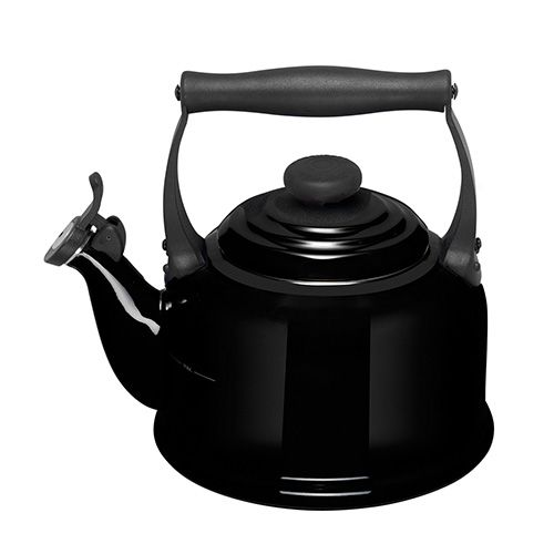 Le Creuset Black Traditional Kettle