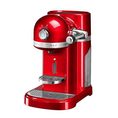 Marvelous Kitchenaid Artisan Nespresso Empire Red Coffee Maker Home Remodeling Inspirations Gresiscottssportslandcom