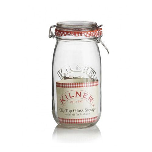 Kilner Clip Top Jar Round 1.5 Litre