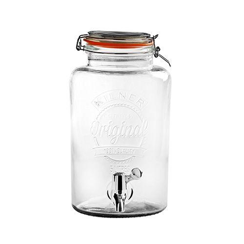 Kilner Clip Top Drinks Dispenser 5 Litre