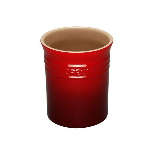 Le Creuset Cerise Stoneware Small Utensil Jar