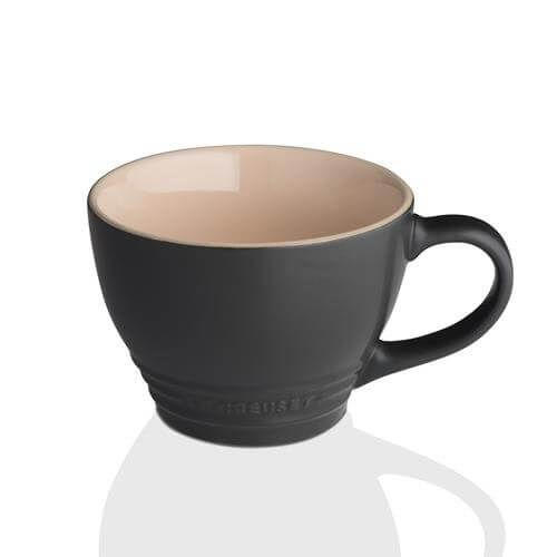 Le Creuset Black Stoneware Grand Mug 3 for 2