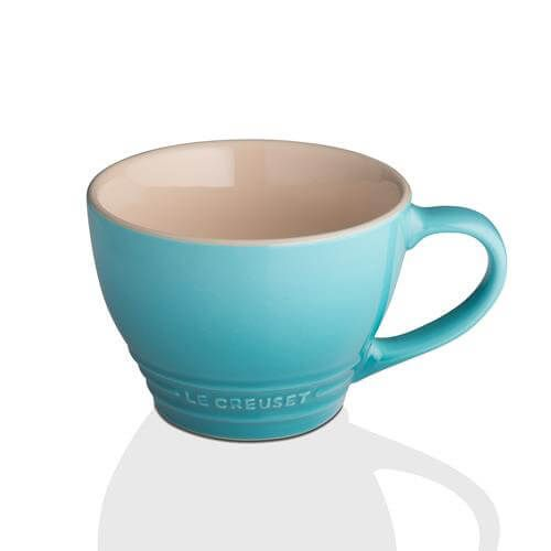 Le Creuset Teal Stoneware Grand Mug 3 for 2
