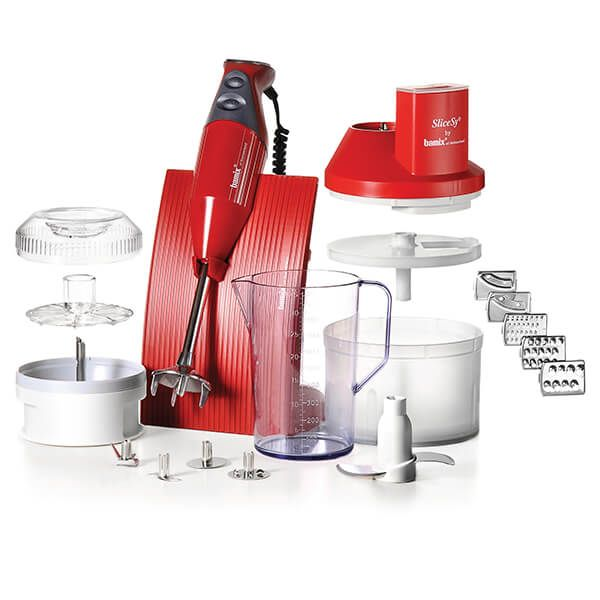 Bamix Superbox Red 200W Hand Blender