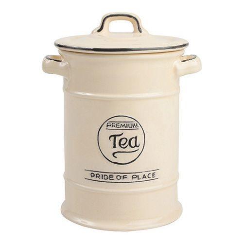 T&G Pride Of Place Tea Jar Old Cream