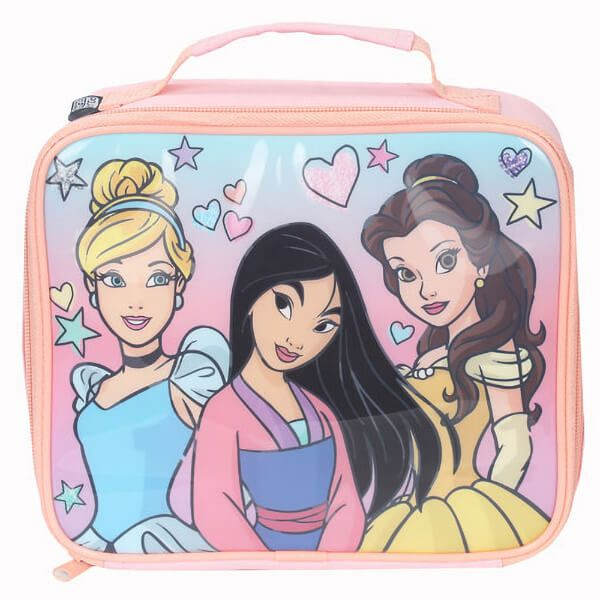 Disney Felt Pen Princess Rectangular Lunch Bag