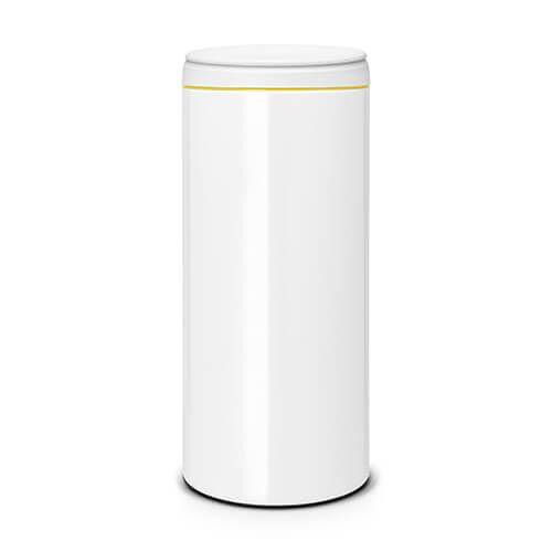 Brabantia Flip Bin 30 Litre White / Light Grey