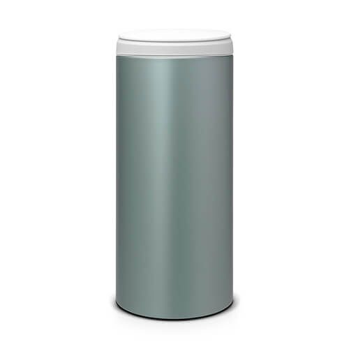Brabantia Flip Bin 30 Litre Metallic Mint / Light Grey