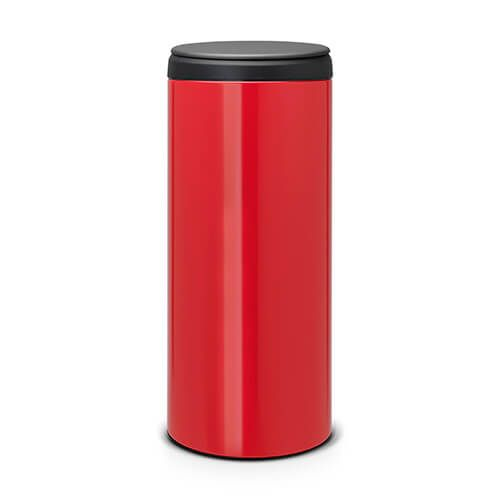 Brabantia Flip Bin 30 Litre Passion Red / Dark Grey