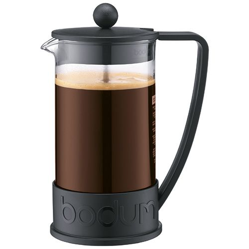 Bodum Brazil Coffee Press 8 Cup Black