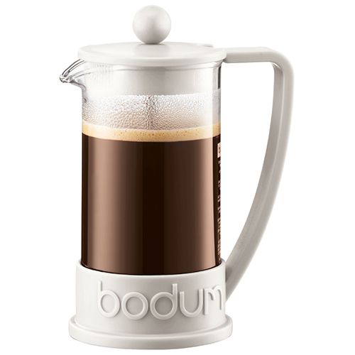Bodum Brazil Coffee Press 8 Cup Off White