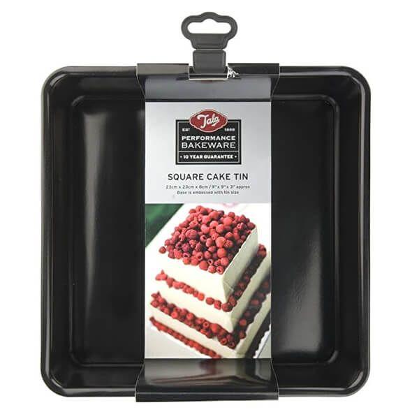 Tala Performance 23cm Square Cake Tin