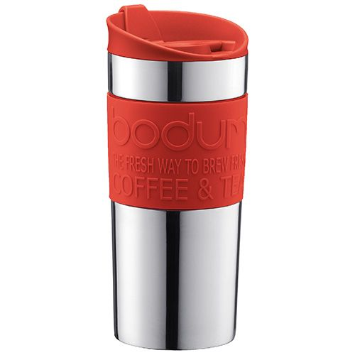 Bodum Travel Mug Stainless Steel Red