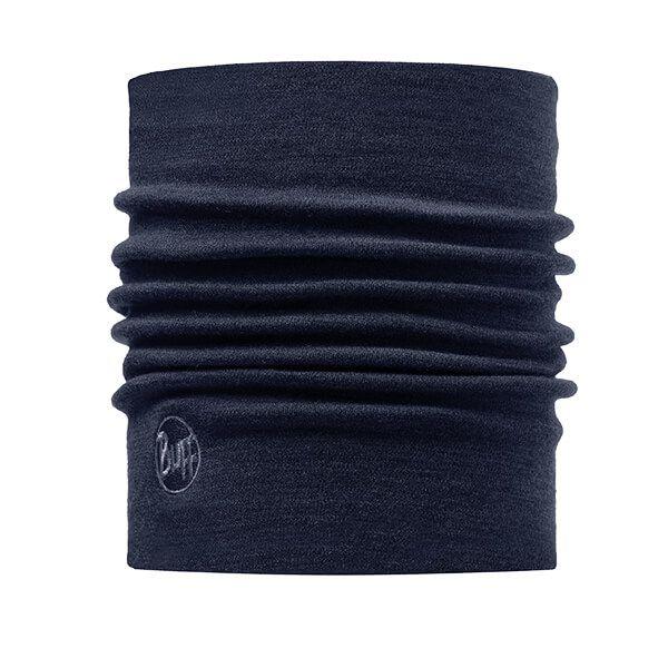 Buff Heavyweight Merino Wool Solid Denim Neckwear