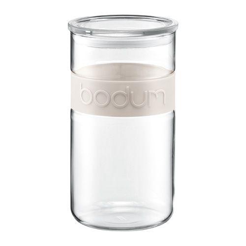 Bodum Presso 2.0L / 68oz Storage Jar Off White