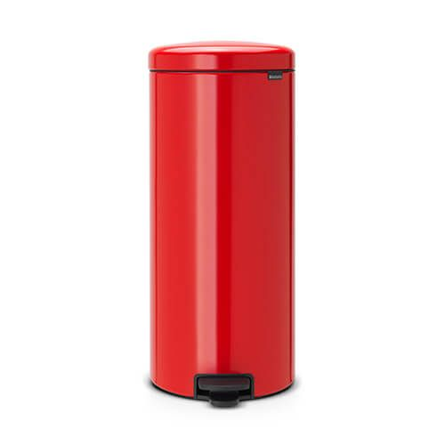 Brabantia NewIcon 30 Litre Pedal Bin Passion Red