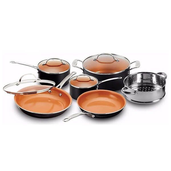 Gotham Steel Non-Stick 10 Piece Cookware Set