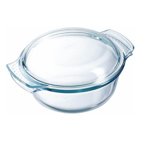 Pyrex Classic 2.5L Round Casserole Easy Grip