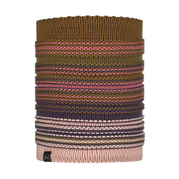 Buff Neper Rose Knitted & Fleece Neckwarmer
