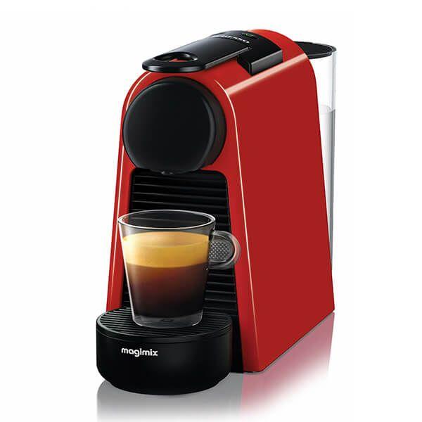 Magimix Nespresso Essenza Mini Ruby Red Coffee Machine