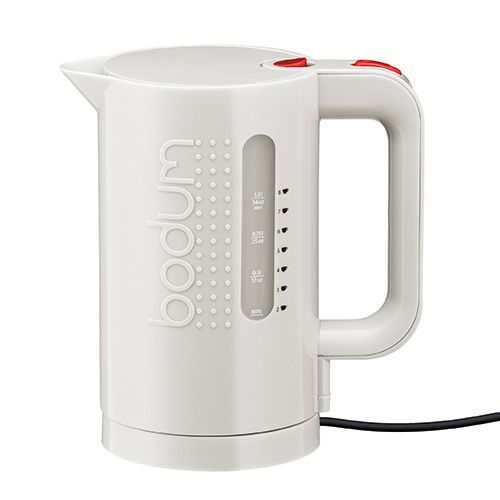 Bodum Bistro Electric Kettle Double Wall 1.0L / 34oz Off White