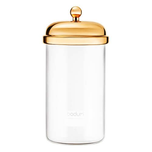 Bodum 1.0L Classic Storage Jar Gold