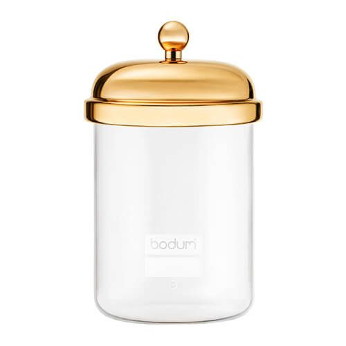 Bodum 0.5L Classic Storage Jar Gold
