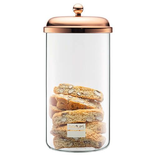 Bodum 2.0L Classic Storage Jar Copper