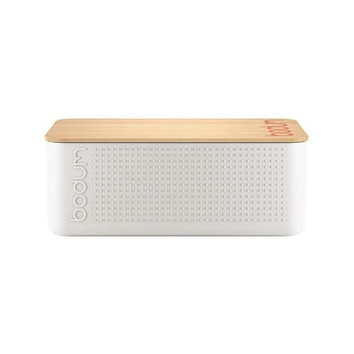 Bodum Bistro Small Bread Box White