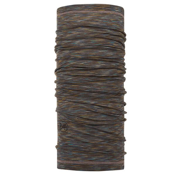 Buff Lightweight Merino Wool Fossil Multi Stripes Neckwear