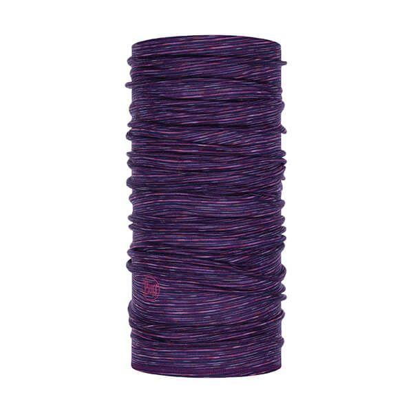 Buff Lightweight Merino Wool Purple Multi Stripes Neckwear